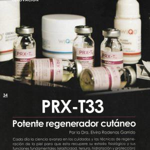 Regeneración Cutánea PRX